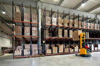 Warehouse illustration for inventory costing
